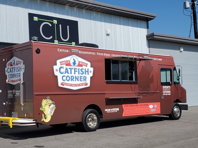 Uncle Boo's Catfish Corner Food Truck