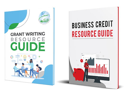 E-BOOK COMBO DEAL!  Business Credit & Grant Writing Resource Guides.
