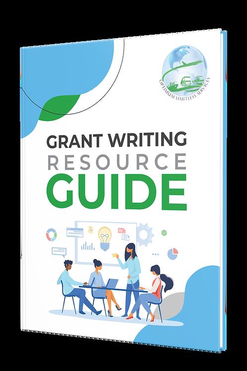 GRANT WRITING RESOURCE GUIDE E-BOOK