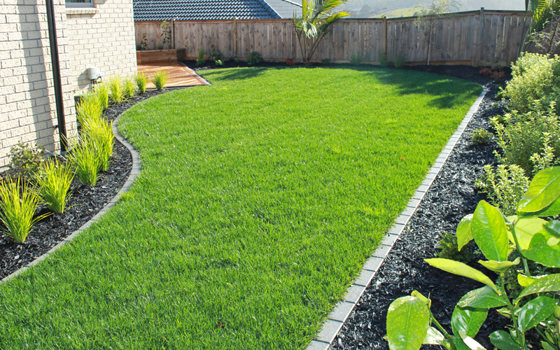 lawns and planter beds