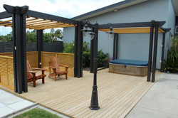 pergolas and decking