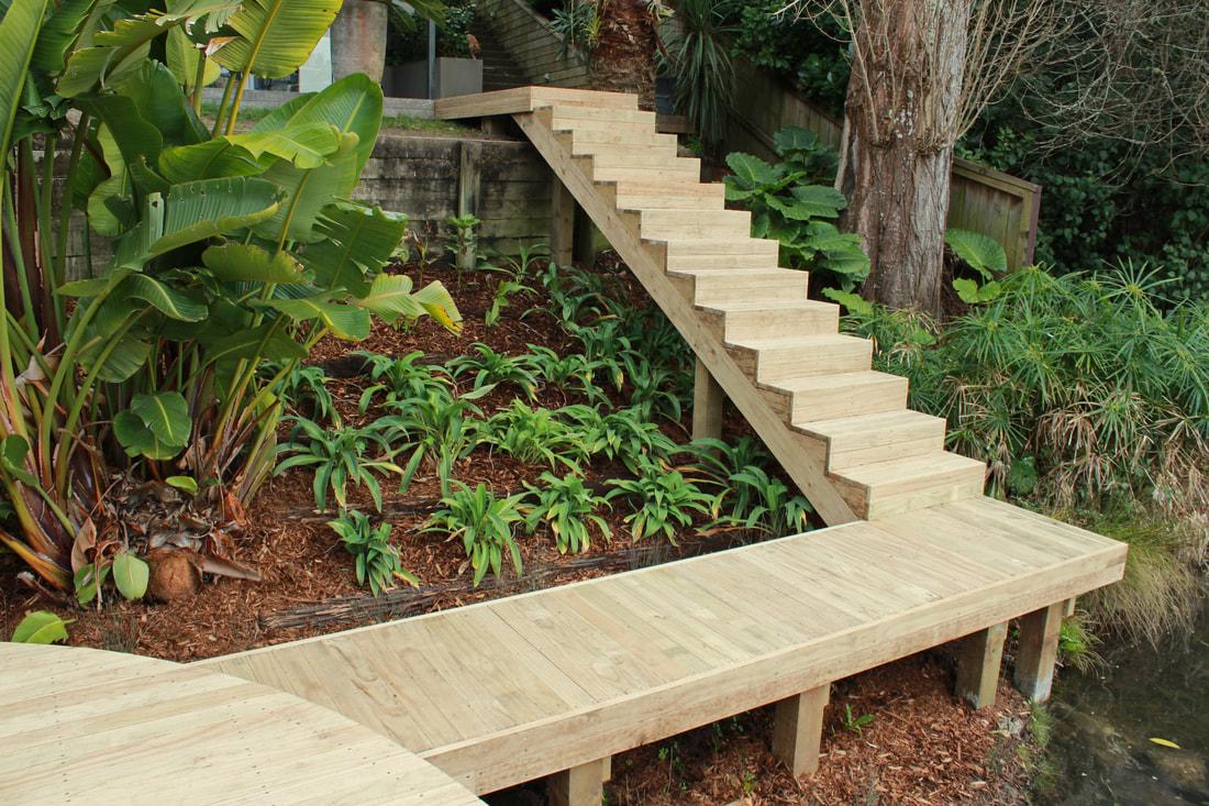 steps deckingg