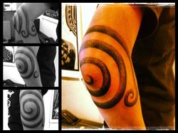 Spiral albue