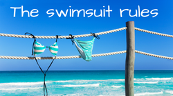 The swim suit rules