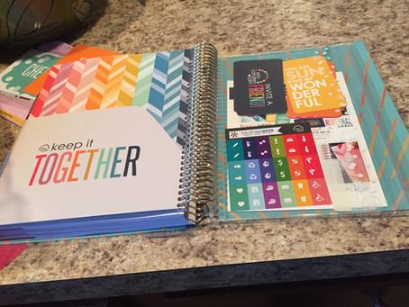 I got an Erin Condren Life Planner