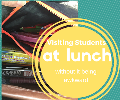 Easy Hacks for Visiting Students at Lunch Without it Being Awkward
