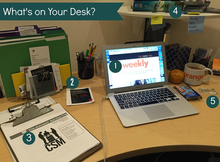 What's on your desk?