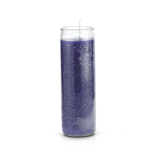 Purple 7 Day Candle