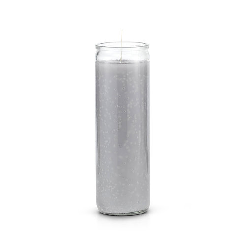 Gray 7 Day Candle