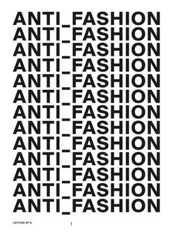 Anti-Fashion 2017