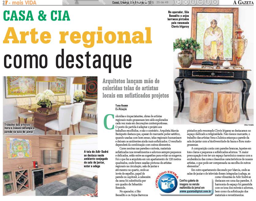 Gazeta dia 08 02 2015