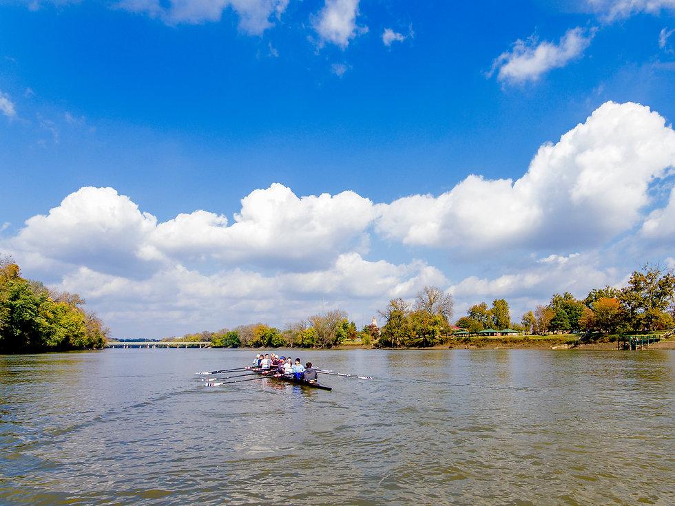 Wabash Valley Crew on Wabash River in Terre Haute