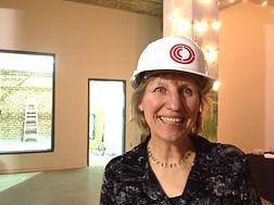 Geraldine Plato, president of the board, Center for Craft, Creativity and Design, CCCD, Asheville, NC.