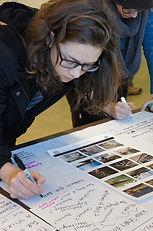 public art planning, River arts District, Asheville NC, Geraldine Plato