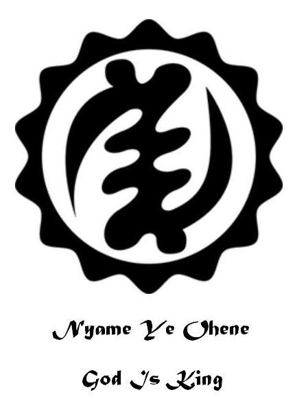 8a. Nyame Ye Ohene (God Is King).JPG