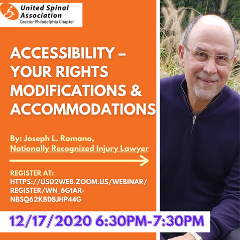 ACCESSIBILITY – YOUR RIGHTS  MODIFICATIONS & ACCOMMODATIONS