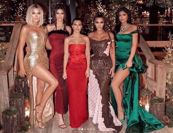 Kardashians Christmas Eve