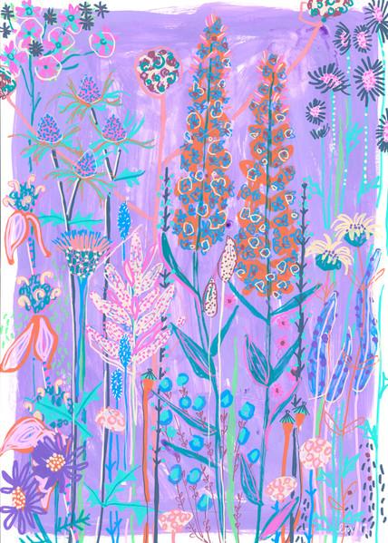 Purple Garden House