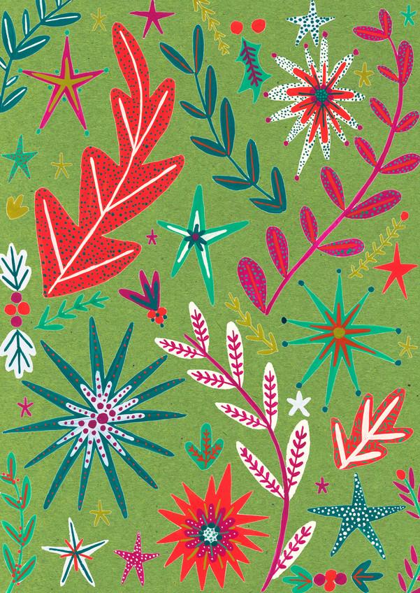 Leaf Green Christmas