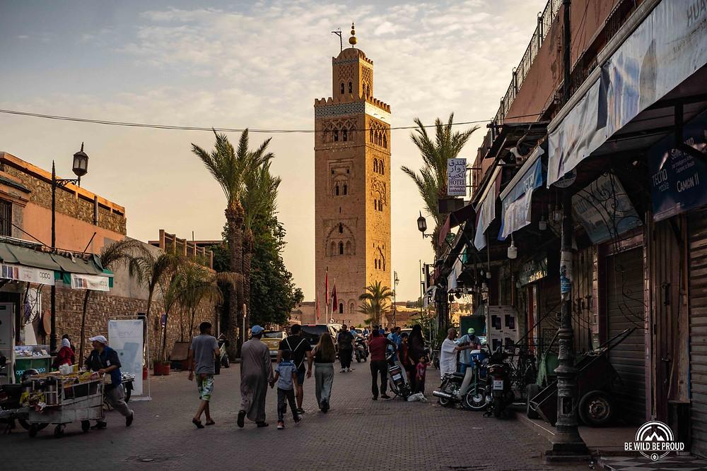 Marrakech Marruecos mercado
