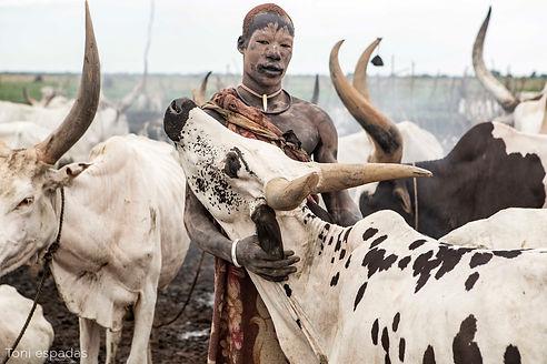 Mundari man (Sudán del Sur) - Toni Espad