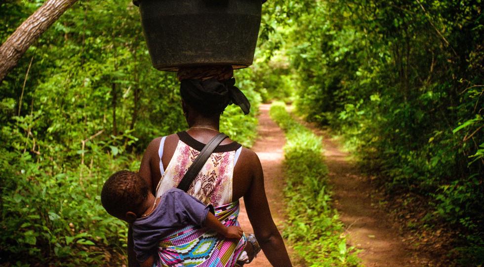 El verde (Guinea Bissau) - Ángel Álvarez