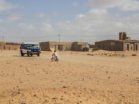 El tiempo se congela en los campos de refugiados de Tindouf