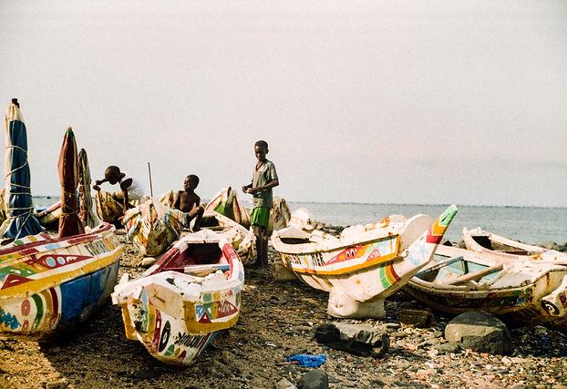 Pequeños aventureros (Senegal) - Ángel Á