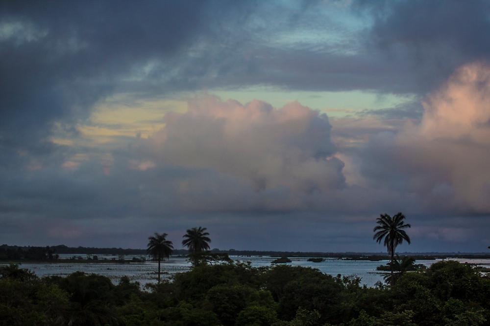 Las vistas desde Dialamkoto