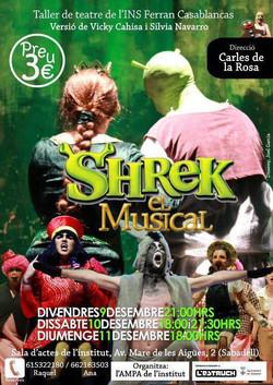 Shrek, el musical 2011