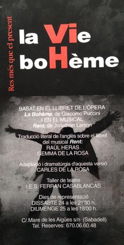 La vie bohème, 1999