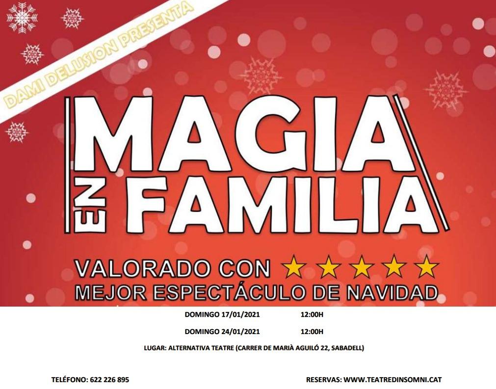 Magia en familia, amb Dami Delusion