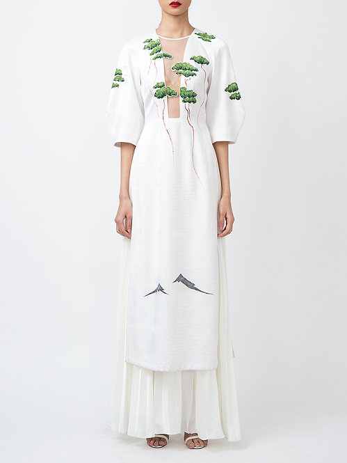 FLYING FOREST-PAINTED CONTEMPORARY AODAI