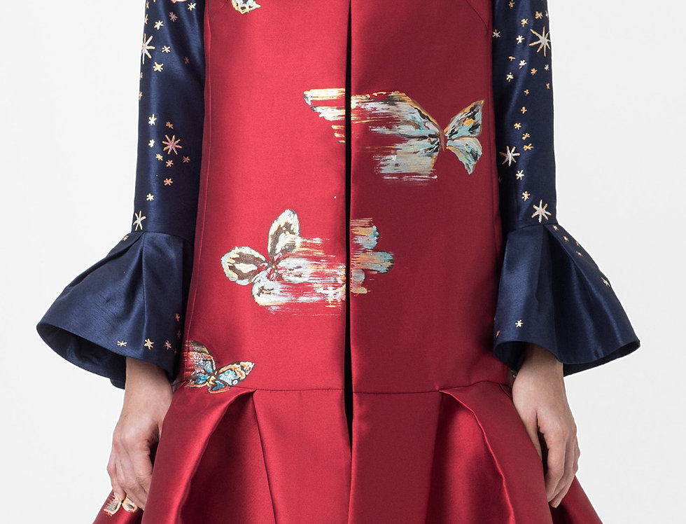 BUTTERFLY SLEEVELESS JACKET