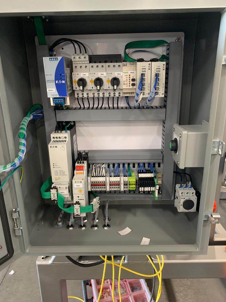 Bin Filler Control Panel