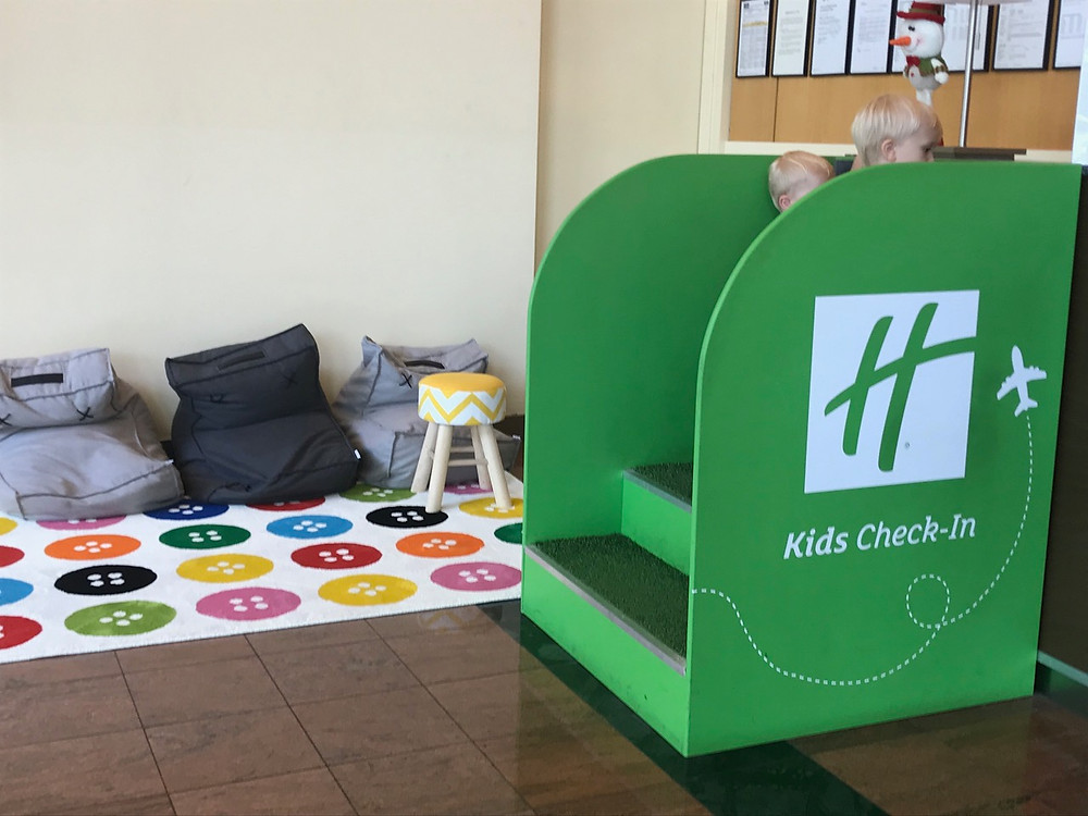 Kids Check In Station