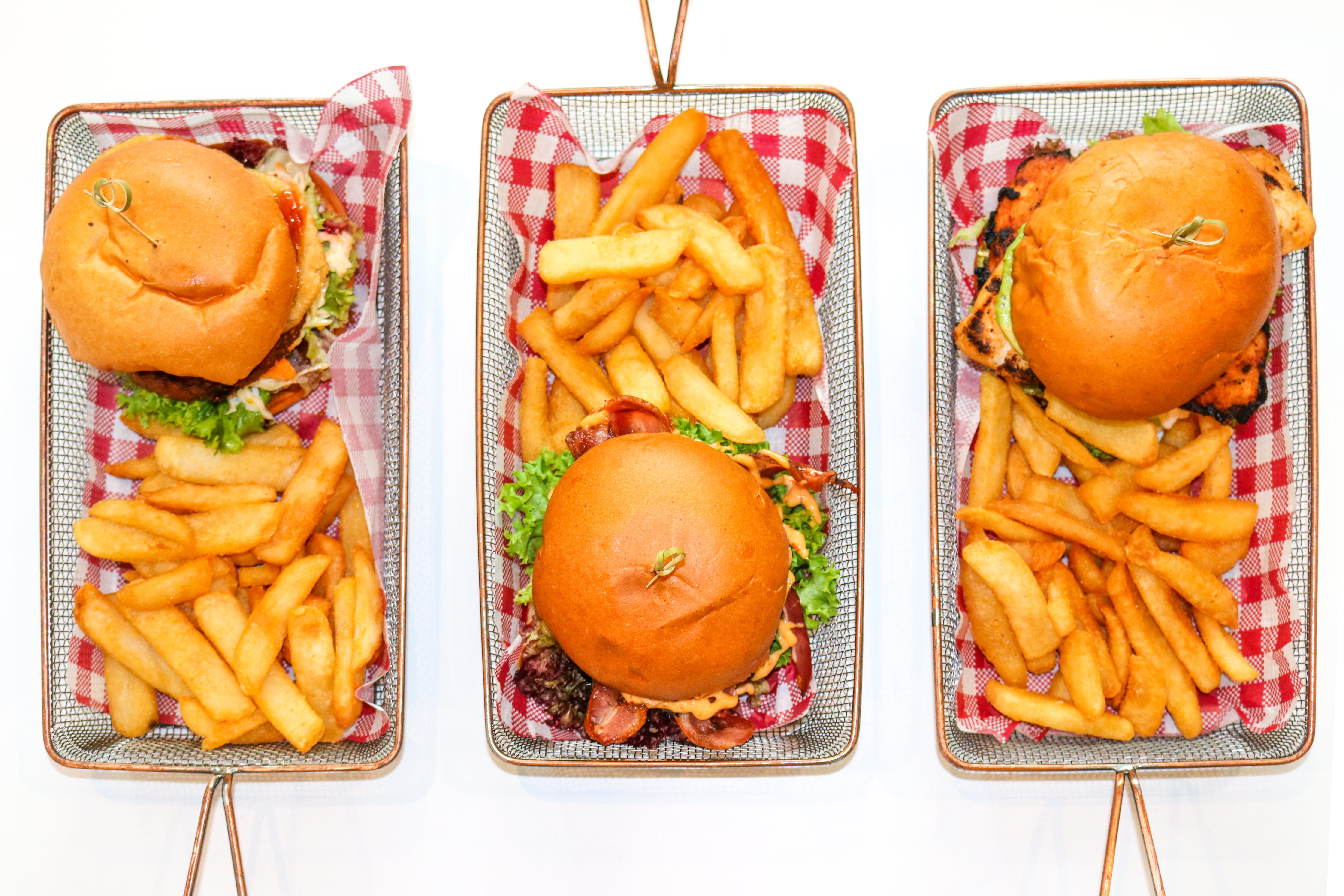 3 Biggles Burgers