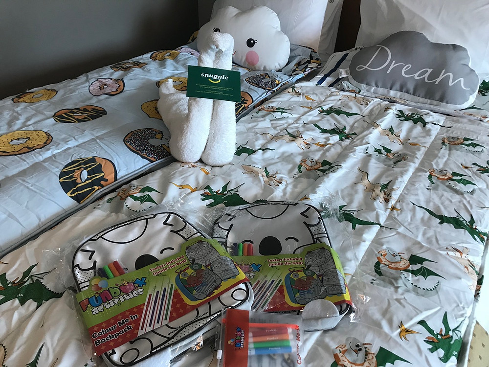 Family Package Slumber Bed Set Up