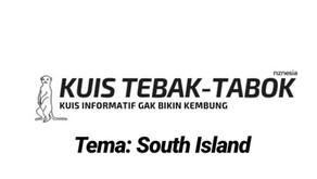 IG story NZNESIA: Kuis Tebak-Tabok - Kuis orang Indonesia di Selandia Baru - Kategori South Island