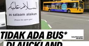Tidak Ada Bus di Auckland: Ada kemungkinan sampai NATAL