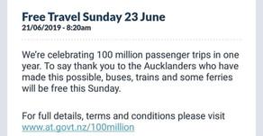 Jalan - Jalan Keliling Auckland GRATIS Pakai Public Transportation