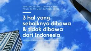 3 Hal yang Sebaiknya Dibawa & Tidak Dibawa dari Indonesia ke Selandia Baru.