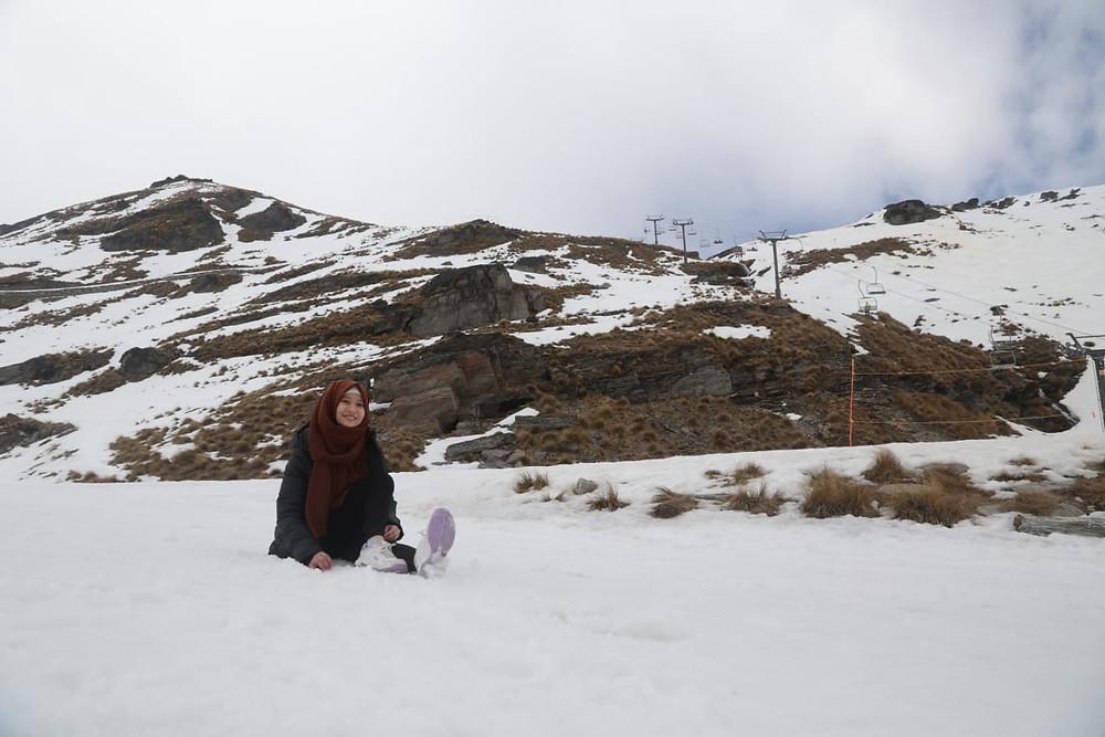 Delia Fabri - Pelajar di Invercargill