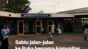 Sabtu Jalan-Jalan ke Buka Bersama Komunitas Singapore-Malaysia di Western Springs Auckland 2019