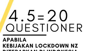 Questioner Corona - 4.5=20