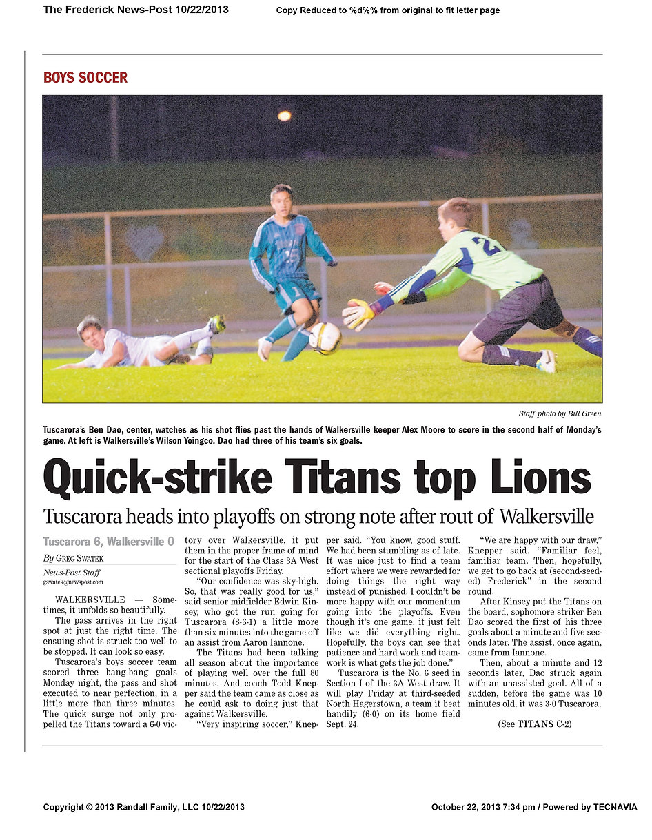 2013 10-22 quick-strike titans top lions