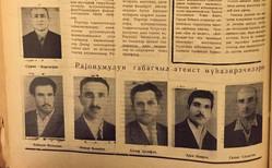 """""""Rayonumuzun qabaqcıl ateist mühazirəçiləri"""""""