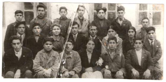 Stalin adına İsmayıllı məktəbinin ikinci buraxılışı