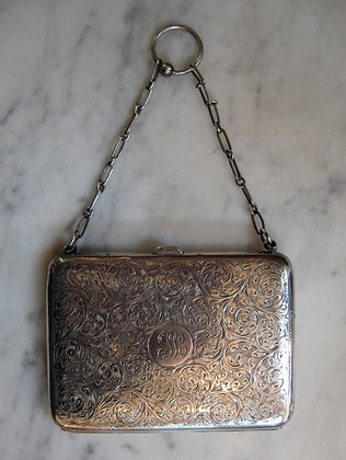 Canadial Silver -  Dance Card Holder