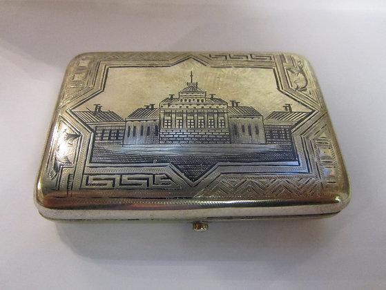 Russian Silver - Cigarette Box 1894